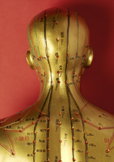 Acupuncture works like magic
